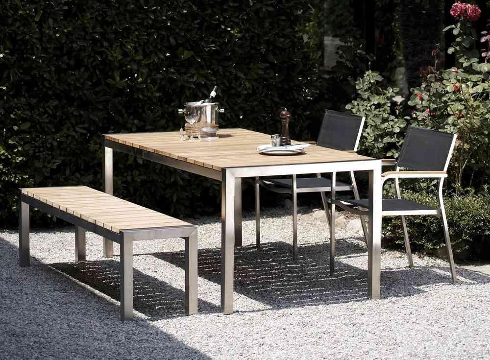 Jan Kurtz Luxury Teak - Gartentisch - Teakwoodstore24