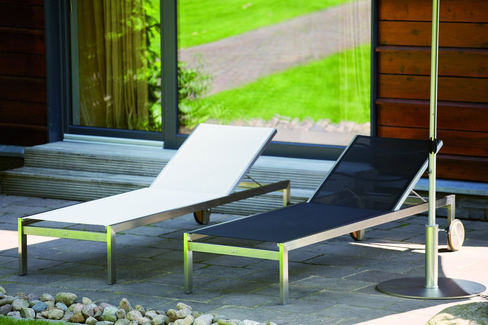 jan kurtz luxury liege gartenliege teakwoodstore24. Black Bedroom Furniture Sets. Home Design Ideas