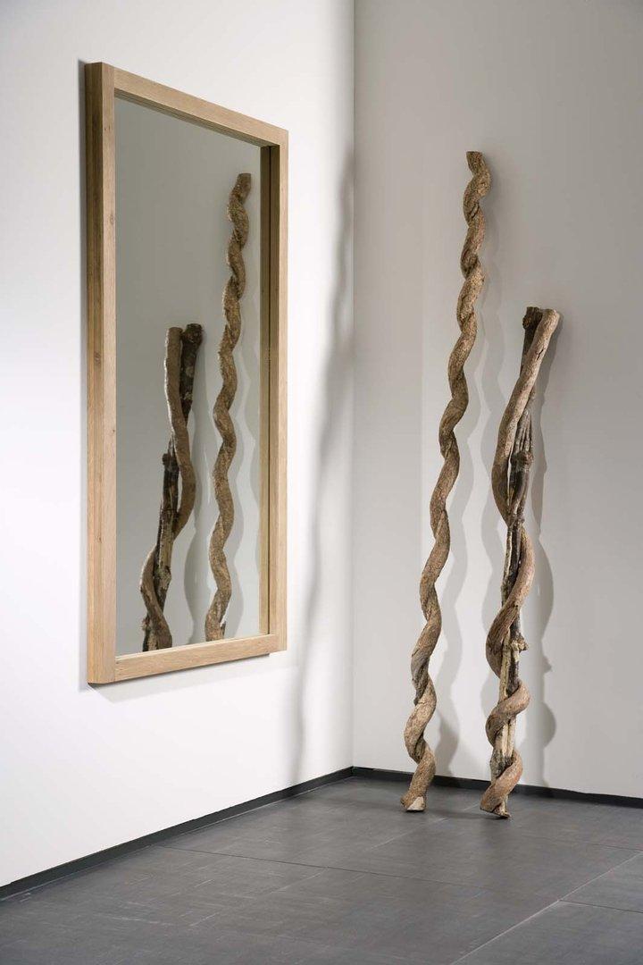 Ethnicraft Oak Light Frame Mirror  Spiegel  Teakwoodstore24