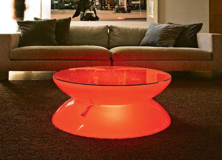 Moree lounge tisch led pro accu indoor teakwoodstore24 for Lounge tisch