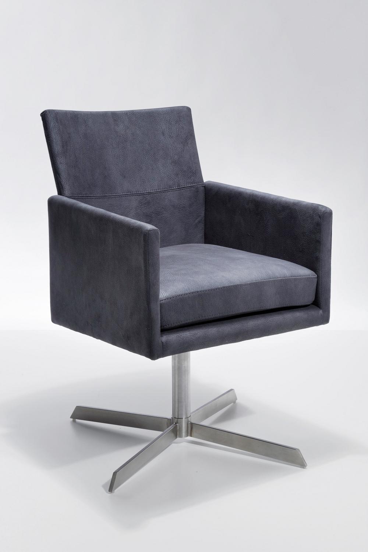 Kare design drehstuhl dialog teakwoodstore24 for Design drehstuhl esszimmer