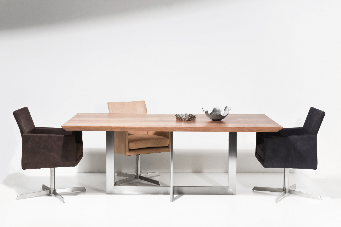 Kare design walnut madison esstisch teakwoodstore24 for Kare design tisch