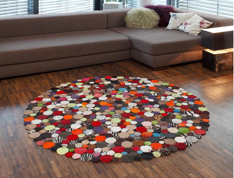 Kare Design Circle Multi 150 Cm Rund Teppich