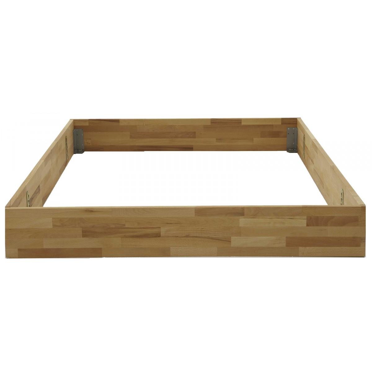 dico modular bett kernbuche bett teakwoodstore24. Black Bedroom Furniture Sets. Home Design Ideas