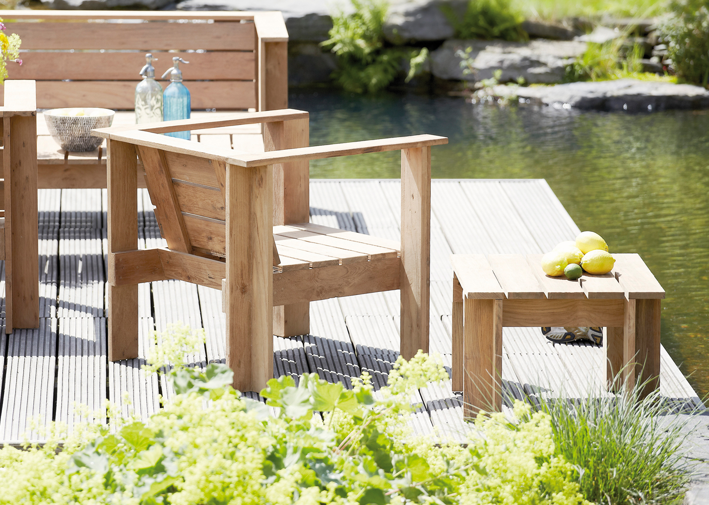 jan kurtz batten beistelltisch gartentisch teakwoodstore24. Black Bedroom Furniture Sets. Home Design Ideas