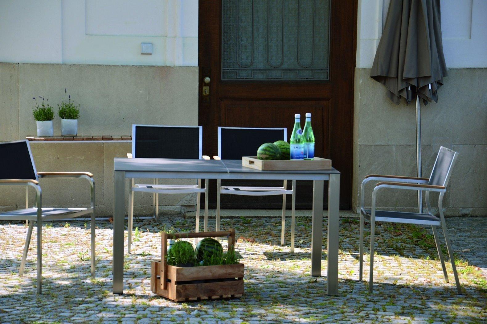 jan kurtz lux base tisch gartentisch teakwoodstore24. Black Bedroom Furniture Sets. Home Design Ideas