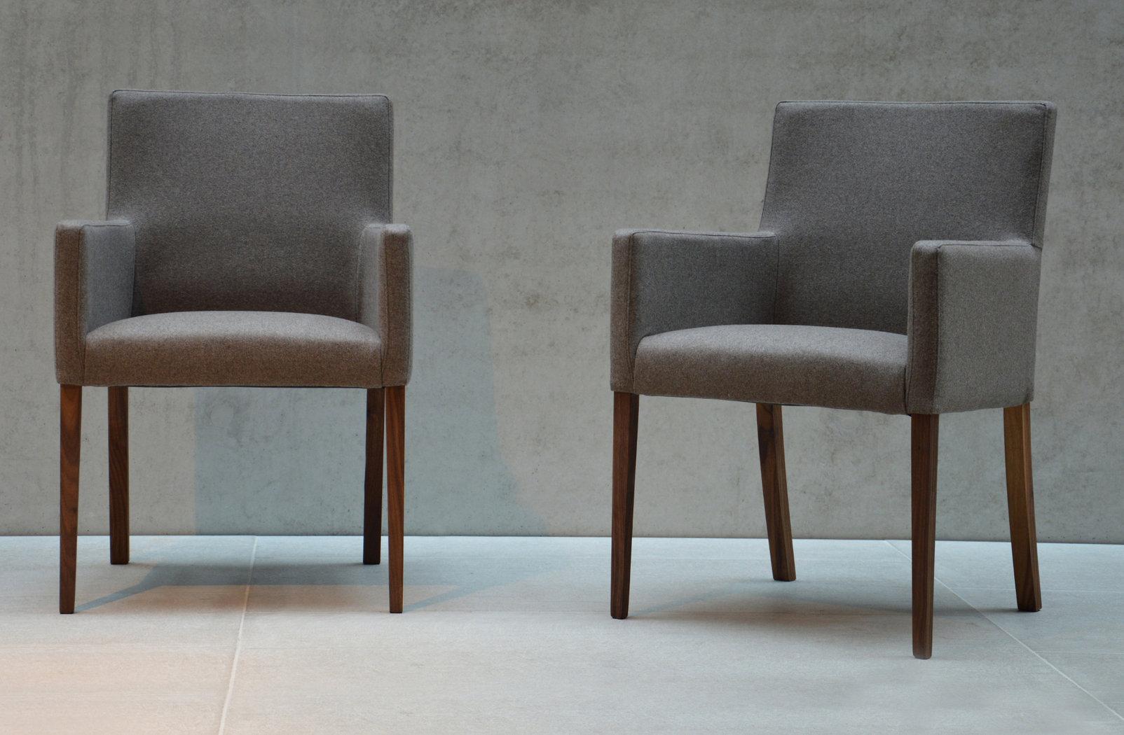 jan kurtz augus nussbaum loden sessel mit wollbezug teakwoodstore24. Black Bedroom Furniture Sets. Home Design Ideas