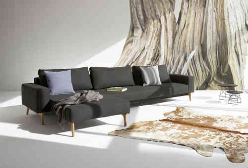Innovation Idun mit Lounger - Schlafsofa