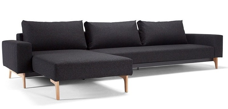 Innovation idun mit lounger schlafsofa teakwoodstore24 for Schlafsofa idun