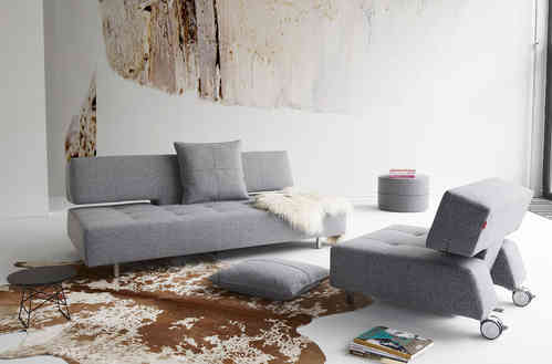 Innovation Long Horn Design Sofa - Schlafsofa