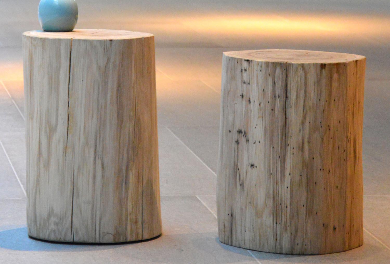 jan kurtz block eiche rund massivholz hocker teakwoodstore24. Black Bedroom Furniture Sets. Home Design Ideas