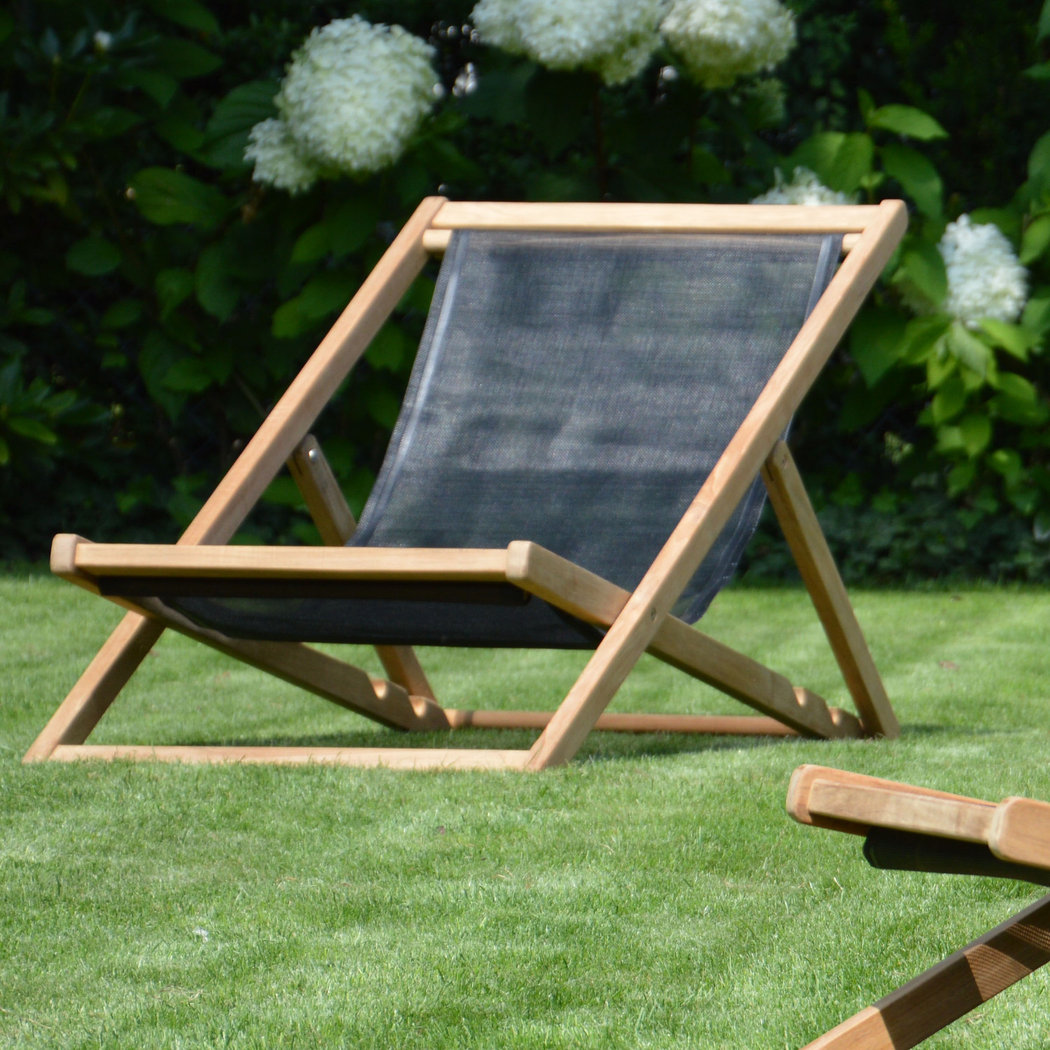 Jan kurtz cannes deckchair liegestuhl teakwoodstore24 for Design liegestuhl