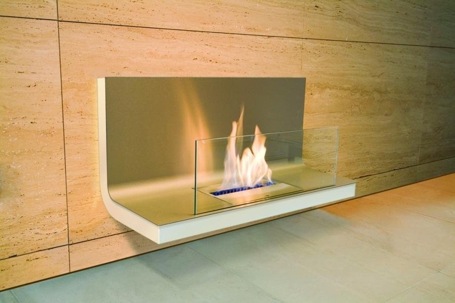 radius design wall flame 1 ethanol kamin teakwoodstore24. Black Bedroom Furniture Sets. Home Design Ideas