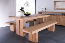 Ethnicraft Oak Double Table 180 cm - Vorführmodell