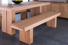 Ethnicraft Oak Double Bench - Sitzbank