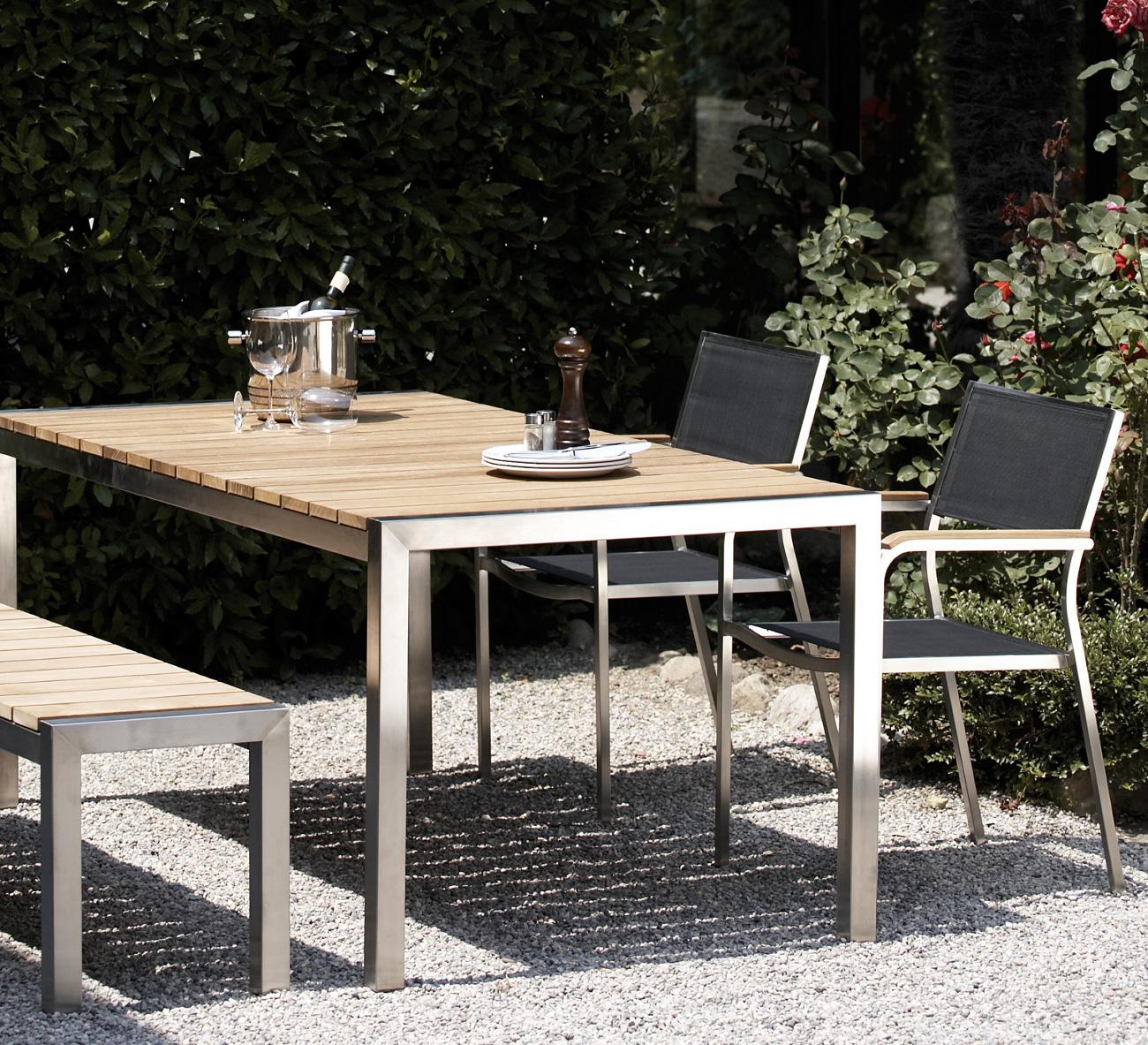 Jan Kurtz Luxury Teak - Gartentisch