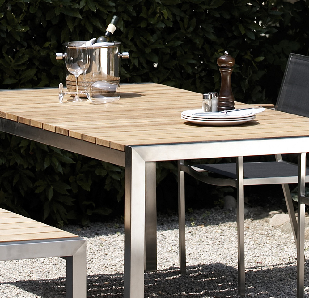 Jan Kurtz Luxury Teak Gartentisch