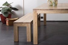 Ethnicraft Oak Straight Bench - Sitzbank