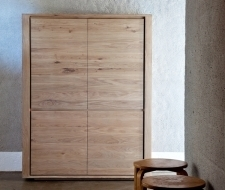 Ethnicraft Oak Shadow Storage Cupboard - Hochschrank