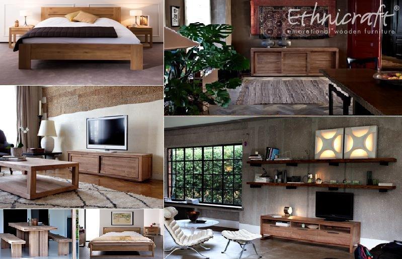 Thin Salontafel Ethnicraft : Ethnicraft designmöbel