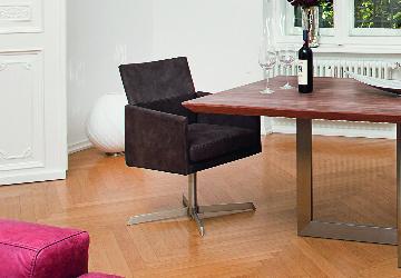 Kare Design Dialog Anthrazit Drehstuhl