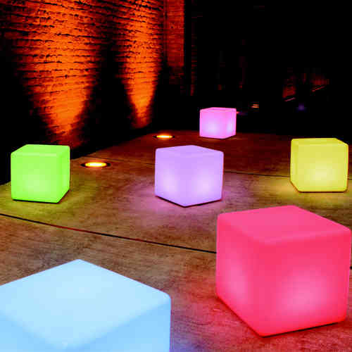 Moree Cube Indoor LED PRO ACCU - Leuchttisch