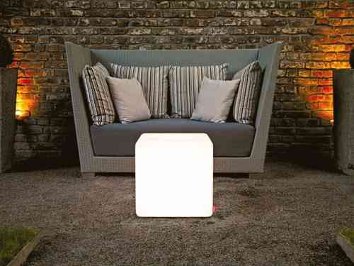 Moree Cube Outdoor - Leuchttisch