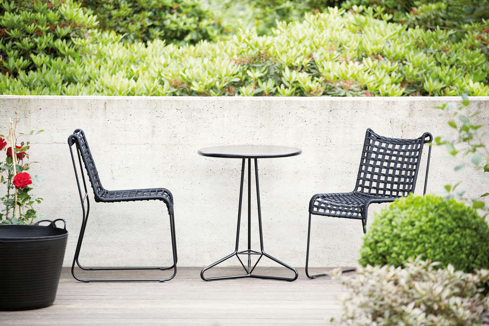Stuhl outdoor schwarz outdoor stuhl krista sta schwarz - Outdoor stuhle kunststoff ...
