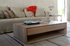 Ethnicraft Oak Nordic Coffee Table - Couchtisch