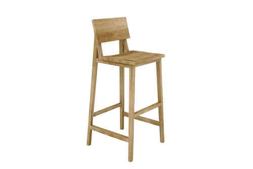 Ethnicraft Oak N4 High Chair - Barhocker