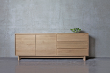 Ethnicraft Oak Wave Dressoir - Sideboard