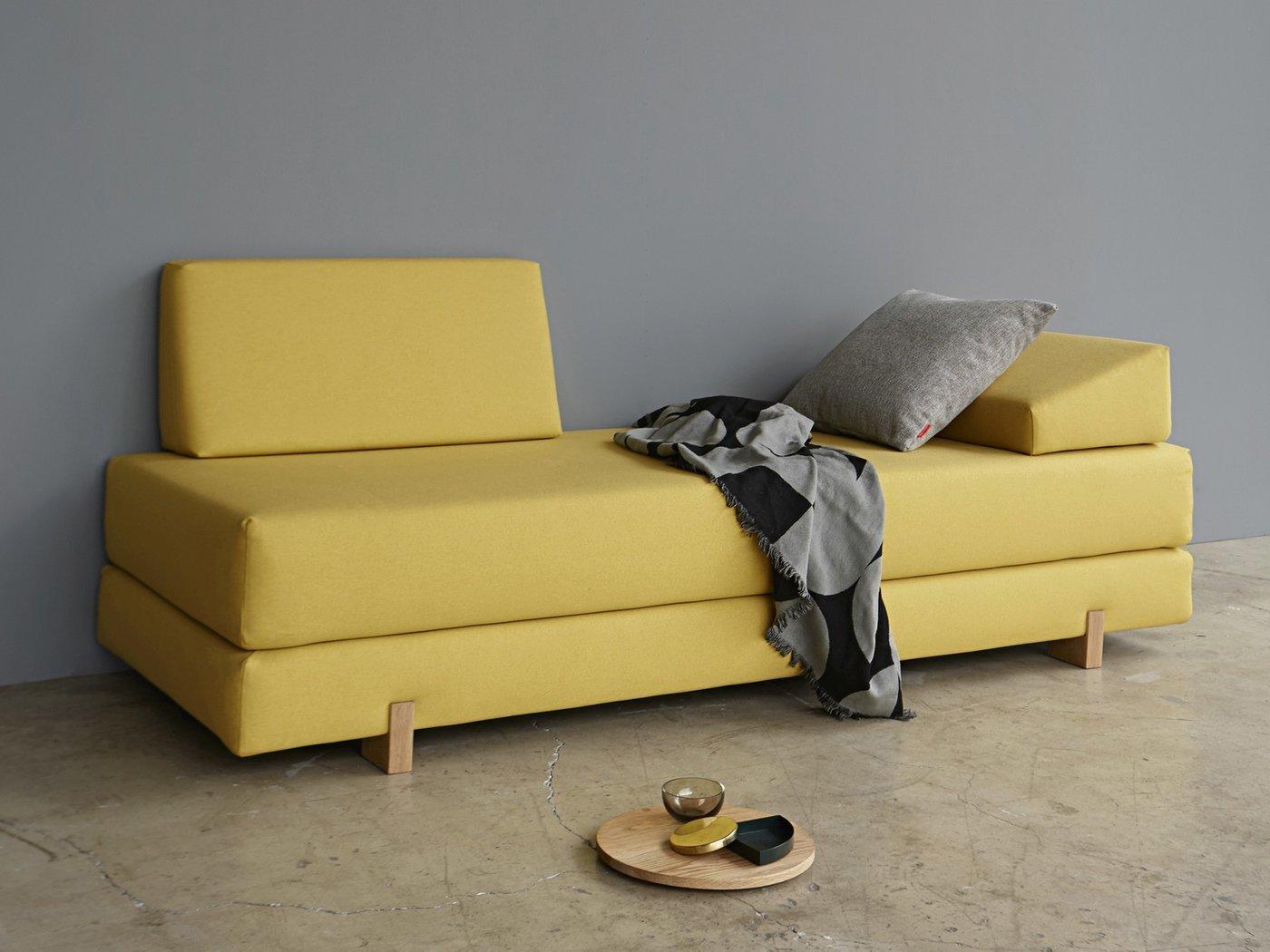 Innovation Sigmund Wood Design Sofa Schlafsofa