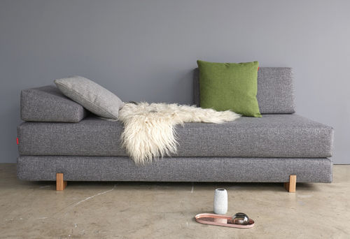Innovation Sigmund Wood Design Sofa - Schlafsofa