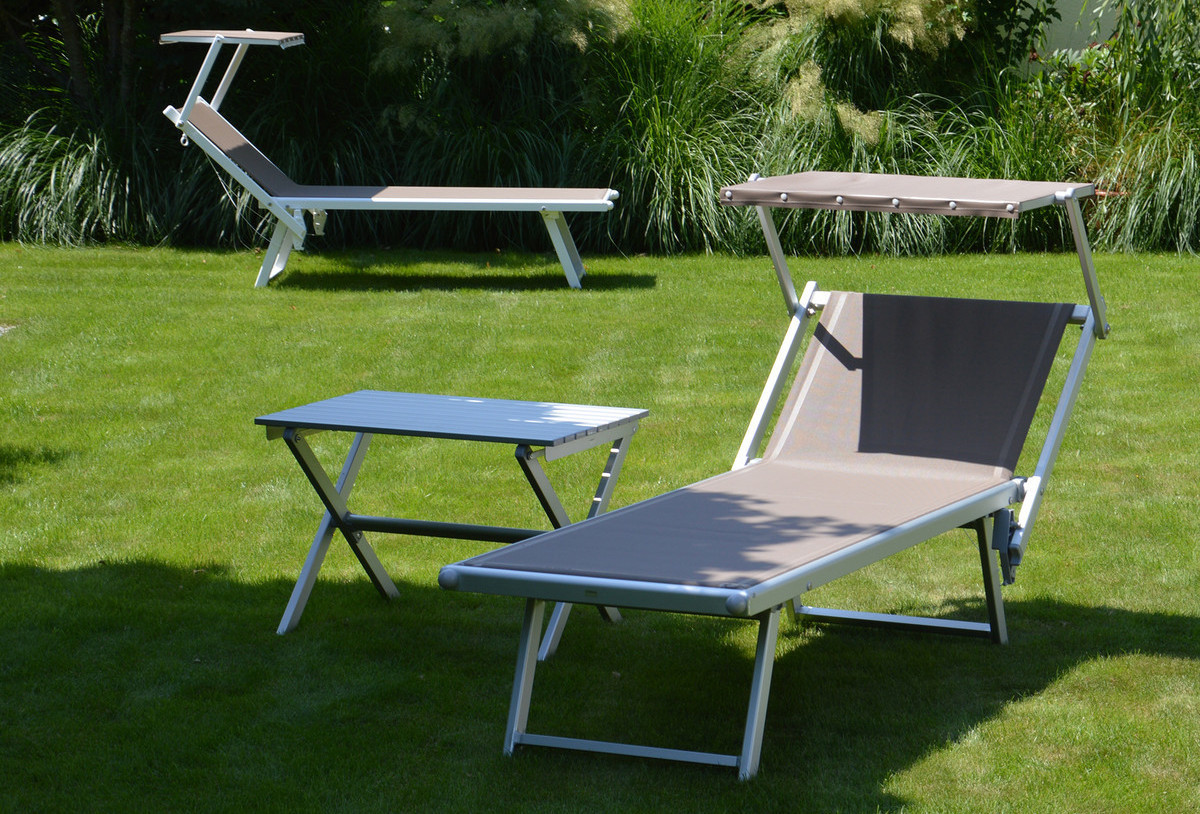 jan kurtz rimini liege classic sonnenliege. Black Bedroom Furniture Sets. Home Design Ideas