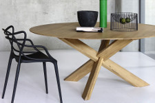 Ethnicraft Eiche Circle Table - Esstisch