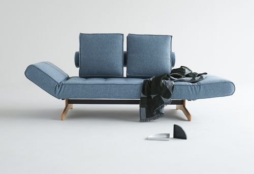 Innovation Ghia Wood Design Sofa - Schlafsofa