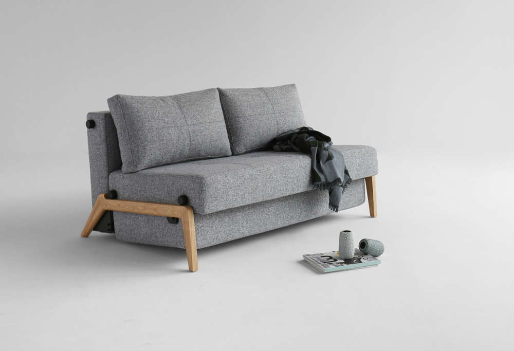 Innovation Cubed 140 Wood 02 Schlafsofa