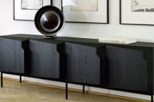 Ethnicraft Stairs Black Eiche I Metall - Sideboard